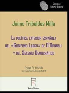 """Emprende2020.es La Política Española Del &Quot;gobierno Largo"""" De O´donnell Y Del Sexe Nio Democrático Image"""