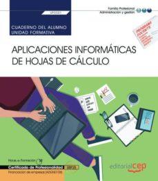 Inmaswan.es Cuaderno Del Alumno. Aplicaciones Informáticas De Hojas De Calcul O (Transversal: Uf0321). Financiación De Empresas (Adgn0108) Image