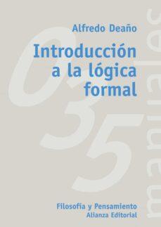 introduccion a la logica formal-alfredo deaño-9788420686813