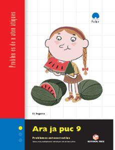 ara ja puc 3º-4º primaria quadern 9 problemes matematiques catala-9788430708413