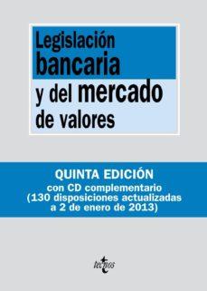 Javiercoterillo.es Legislación Bancaria Y Del Mercado De Valores (Incluye Cd) 5ª Ed Image