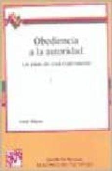 obediencia a la autoridad-stanley milgram-9788433004413
