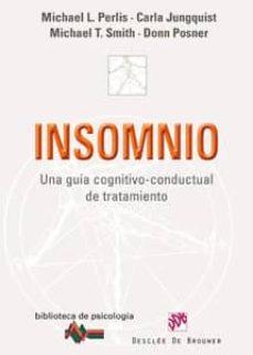 Carreracentenariometro.es Insomnio: Una Guia Cognitivo-conductual De Tratamiento Image
