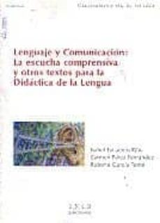 Followusmedia.es Lenguaje Y Comunicacion: La Escucha Comprensiva Y Otros Textos Pa Ra La Didactica De La Lengua (Uned) Image