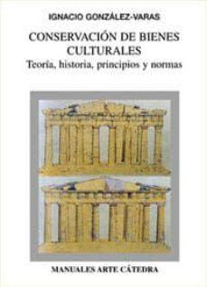 Permacultivo.es Conservacion De Bienes Culturales: Teoria, Historia, Principios Y Normas Image