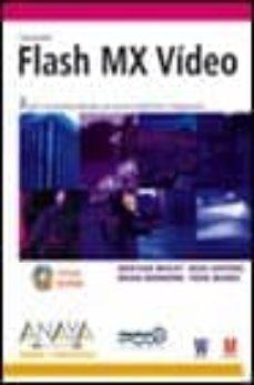 Permacultivo.es Macromedia Flash Mx Video (Incluye Cd) (Diseño Y Creatividad) Image