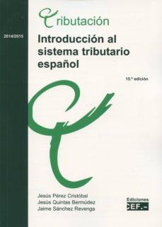introduccion al sistema tributario español 2013-2014-jesus perez cristobal-9788445429013