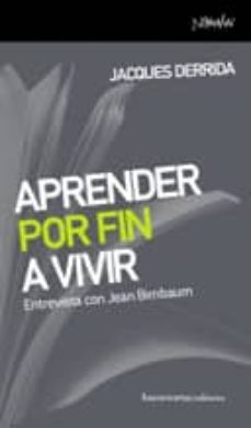 Padella.mx Aprender Por Fin A Vivir: Entrevista Con Jean Rirnbaum Image