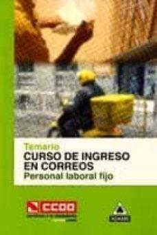 Debatecd.mx Curso De Ingreso En Correos Personal Laboral Fijo: Temario Image