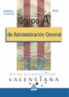 Permacultivo.es Grupo A De Administracion General De La Generalitat Valenciana. M Aterias Comunes. Test Image
