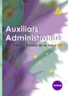 Asdmolveno.it Auxiliars Administratius De L Institut Catala De La Salut: Temari Image