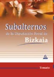 Viamistica.es Subalternos De La Diputacion Foral De Bizkaia: Temario Image