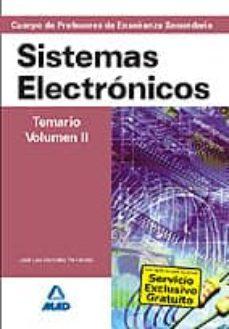 Eldeportedealbacete.es Cuerpo De Profesores De Enseñanza Secundaria: Sistemas Electronic Os: Temario: Volumen Ii Image