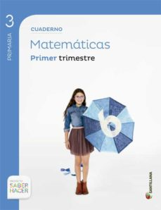 cuaderno de matematicas 3º primaria : 1º trimestre-9788468013213
