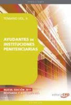 Permacultivo.es Ayudantes De Instituciones Penitenciarias. Vol Ii Image