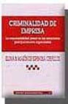 Canapacampana.it Criminalidad De Empresa: La Responsabilidad Penal En Las Estructu Ras Jerarquicamente Organizadas Image