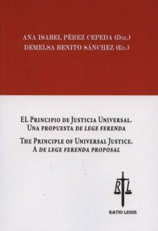 Inmaswan.es El Principio De Justicia Universal, Una Propuesta De Lege Ferenda He Principle Of Universal Justice. A De Lege Ferenda Proposal Image