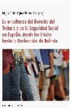 Chapultepecuno.mx La Enseñanza Del Derecho Del Trabajo Y De La Seguridad Social En España, Desde Los Inicios Hasta La Declaracion De Bolonia Image