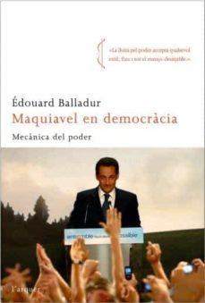 Curiouscongress.es Maquiavel En Democracia: Mecanica Del Poder Image