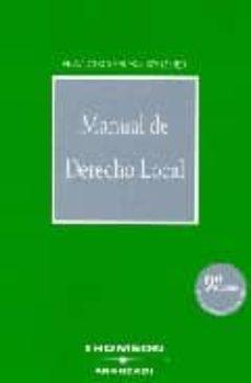 Descargar MANUAL DE DERECHO LOCAL gratis pdf - leer online