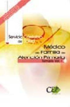 Inmaswan.es Medico De Familia De Atencion Primaria. Servicio Cantabro De Salu D.temario Vol. I Image