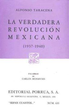 Milanostoriadiunarinascita.it La Verdadera Revolucion Mexicana 1937-1940 (2ª Ed.) Image