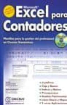 Padella.mx Excel Para Contadores: Planillas Para La Gestion Profesional En C Iencias Economicas (Contiene Cd-rom) Image