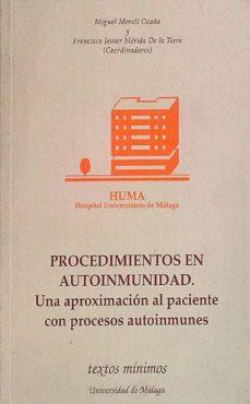 PROCEDIMIENTOS EN AUTOINMUNIDAD. - VVAA | Adahalicante.org