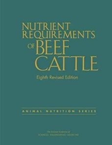 Ebook epub forum descargar NUTRIENT REQUIREMENTS OF BEEF CATTLE (8TH REV. ED.) PDB DJVU de  (Spanish Edition)