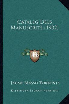 Permacultivo.es Cataleg Dels Manuscrits (1902) Image