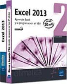 Valentifaineros20015.es Excel 2013: Pack 2 Libros - Aprender Excel Y La Programacion En V Ba Image