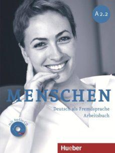Descarga de libro completo gratis MENSCHEN A2.2 ARBEITSBUCH MIT AUDIO-CD