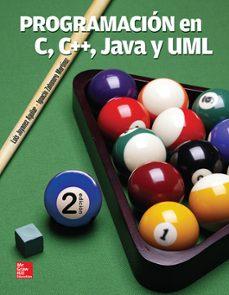 Descargar PROGRAMACION EN C/C++ JAVA Y UML gratis pdf - leer online