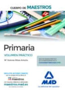 cuerpo de maestros primaria: volumen practico-9788414221723