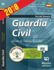 guardia civil: escala de cabos y guardias: test del temario-9788417287023