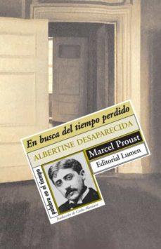 Ibooks epub descargas EN BUSCA DEL TIEMPO PERDIDO (VOL. 6): ALBERTINE DESAPARECIDA