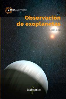 Mensaje de texto descargar libro OBSERVACION DE EXOPLANETAS (Spanish Edition) FB2 RTF PDB