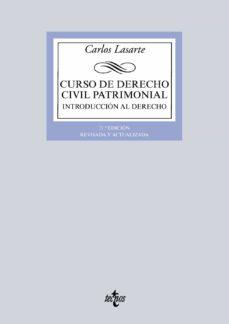 Descargar CURSO DE DERECHO CIVIL PATRIMONIAL : INTRODUCCION AL DERECHO gratis pdf - leer online