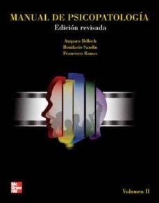 ebook-manual de psicopatologia vol ii (ebook)-amparo belloch-9788448175023