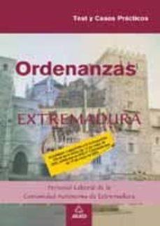 Bressoamisuradi.it Ordenanzas. Personal Laboral De La Comunidad De Extremadura. Test Y Casos Practicos Image