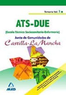 Permacultivo.es Escala Tecnica Sociosanitaria-enfermeria De La Junta De Comunidad Es De Castilla La Mancha: Temario (Vol. I) Image