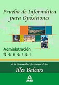 Titantitan.mx Prueba De Informatica Para Oposiciones De La Administracion Gener Al C.a. Illes Balears Image