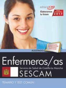 enfermeros/as. servicio de salud de castilla - la mancha (sescam). temario y test común-9788468177823