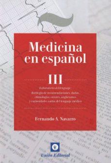 Descargar Ebook for gre gratis MEDICINA EN ESPAÑOL, III