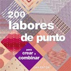 200 labores de punto-jan eaton-9788475563923