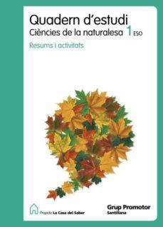 Cronouno.es Quadern Estudi C Natur Catal Ed.2010 1º Eso Image