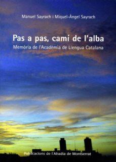 Emprende2020.es Pas A Pas, Cami De L Alba: Memoria De L Academia De Llengua Catal Ana Image