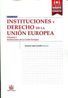 Asdmolveno.it Instituciones De Derecho De La Unión Europea Volumen I Image