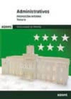 Inciertagloria.es Administrativos Promocion Interna Comunidad De Madrid: Temario Image