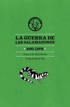 Libro de electrónica en pdf descarga gratuita LA GUERRA DE LES SALAMANDRES PDF PDB (Literatura española) de KAREL CAPEK